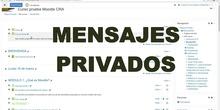 10. Curso Moodle para tiempos de crisis en el CRA Los Olivos: Mensajería interna