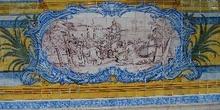 Azulejo del Monasterio de los Jerónimos, Lisboa, Portugal