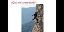 SECUNDARIA - 2º - ESCALADA - EDUCACIÓN FÍSICA - LUCÍA
