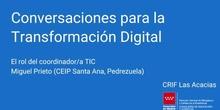 Charlas para la Transformación Digital: la importancia de la coordinación TIC
