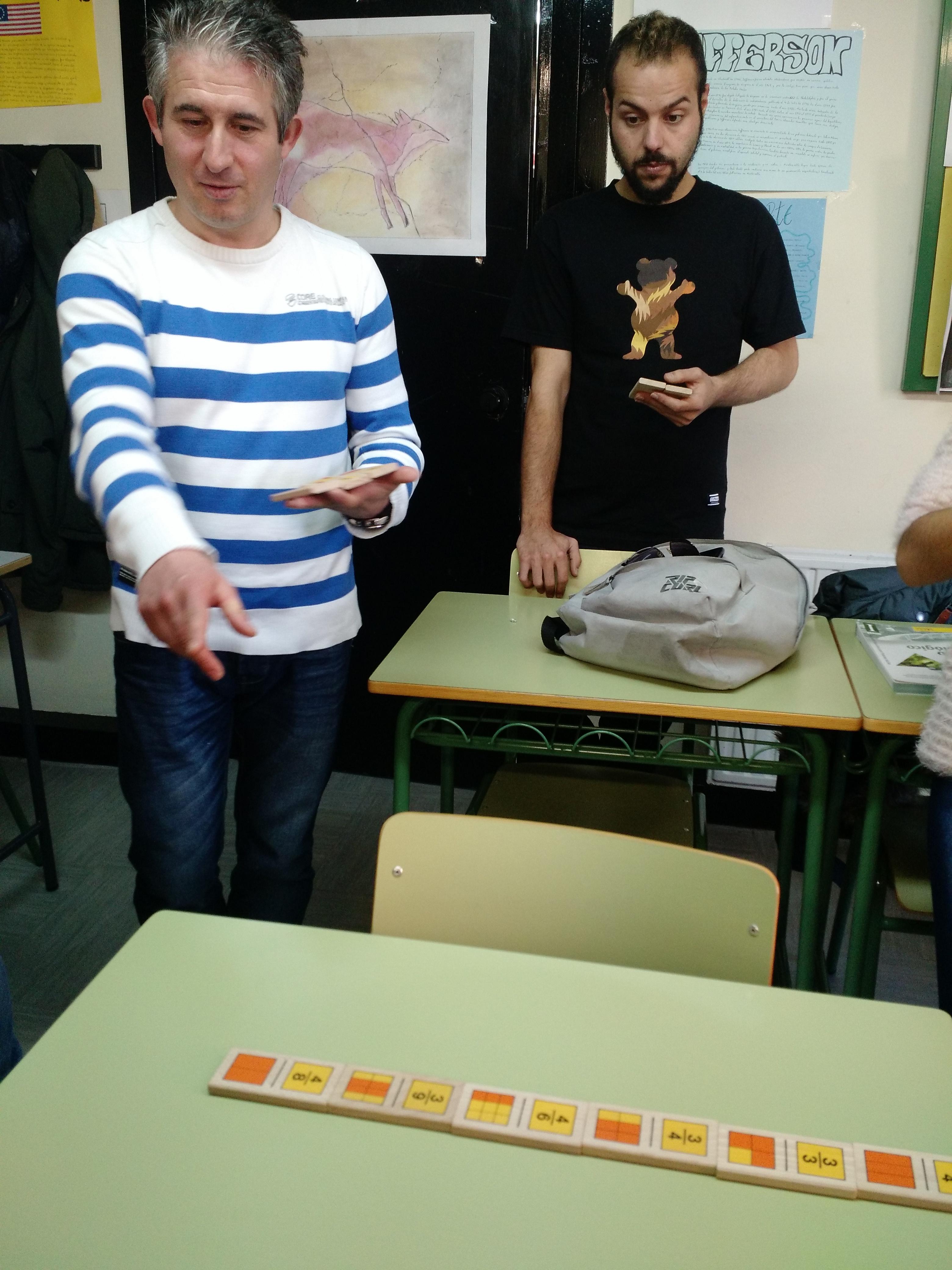 Jugando al dominó (fracciones) 5
