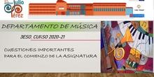 Música 3ESO Curso2020-2021 IES PJP