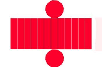 Desarrollo de un prisma dihexagonal