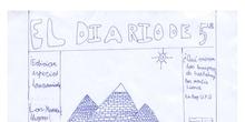 Diario de 5º Ed. Primaria - Noviembre 2017
