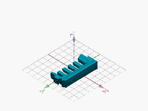 Pieza frontal impresión 3D