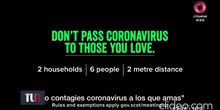 Spot campaña coronavirus Escocia