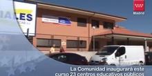 23 nuevos centros educativos públicos en la región para el curso 2012-13