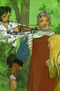 Frondoso sale en ayuda de Laurencia