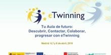 Tu aula de futuro: descubrir, contactar, colaborar, progresar con Etwining III