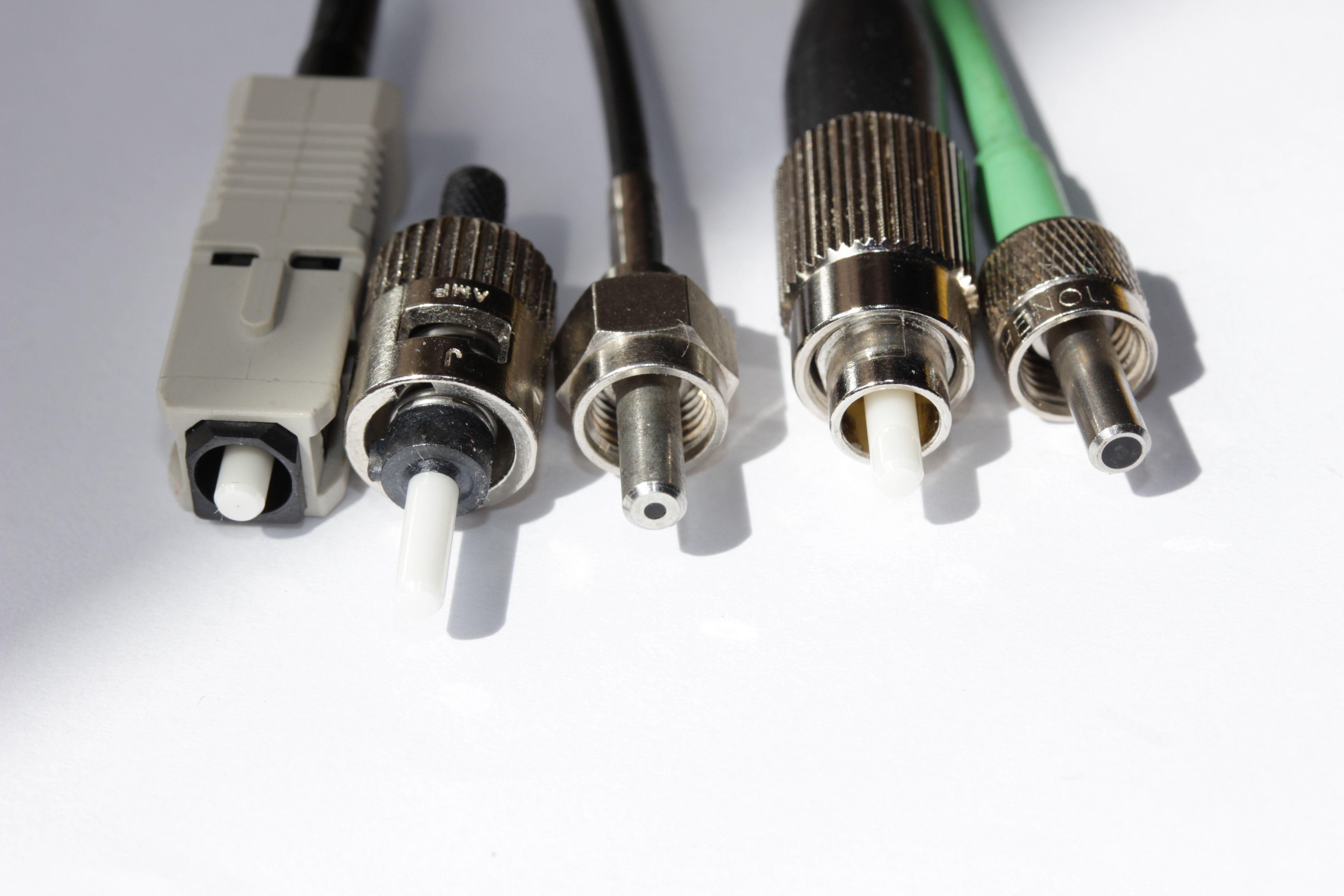 Conectores de Fibra Óptica