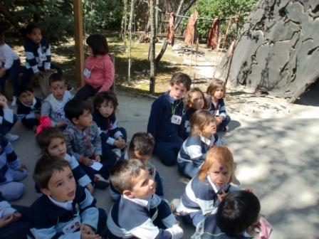 Infantil 4 años en Arqueopinto 2ª parte 6