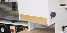 Accesorio protector para trabajo al eje de la fresadora