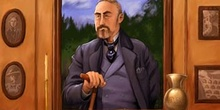 Escuela de Robinsones: Retrato del profesor Tartelett
