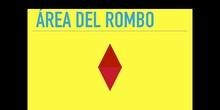 PRIMARIA - 6º - ÁREA DEL ROMBO - MATEMÁTICAS
