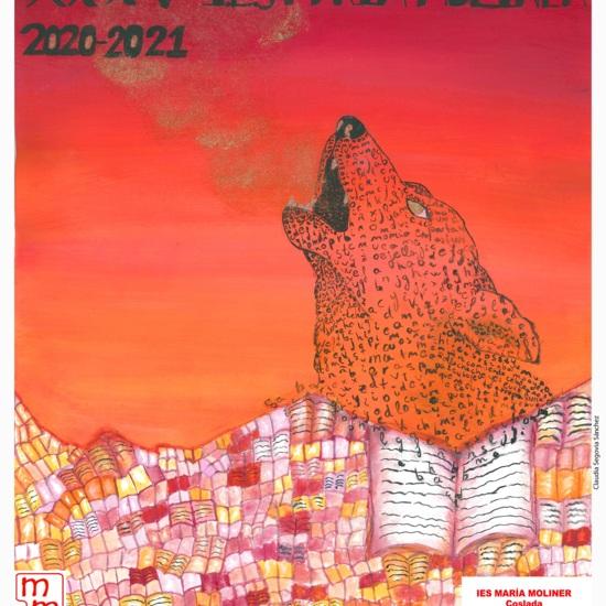Cartel anunciador XXXV Certamen Literario IES María Moliner