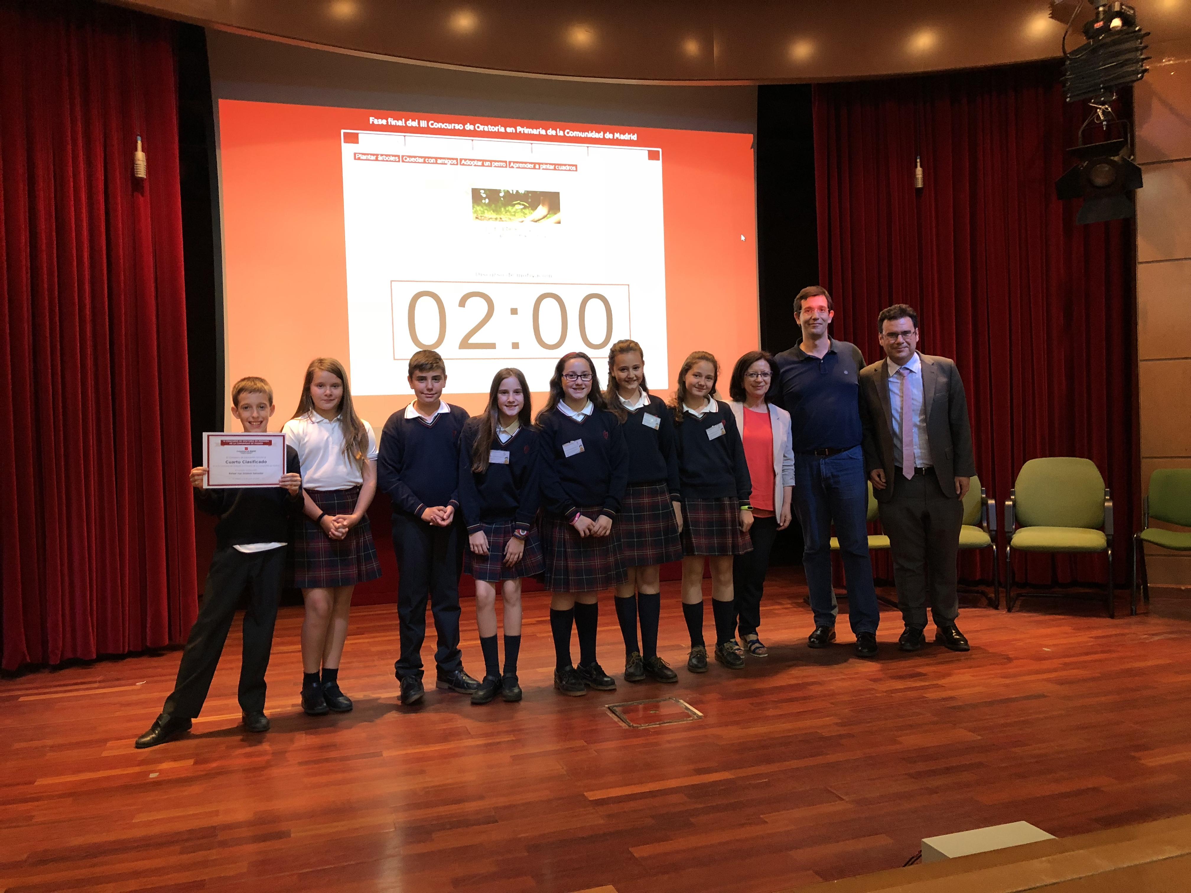 Fase final del III Concurso de Oratoria en Primaria de la Comunidad de Madrid 21