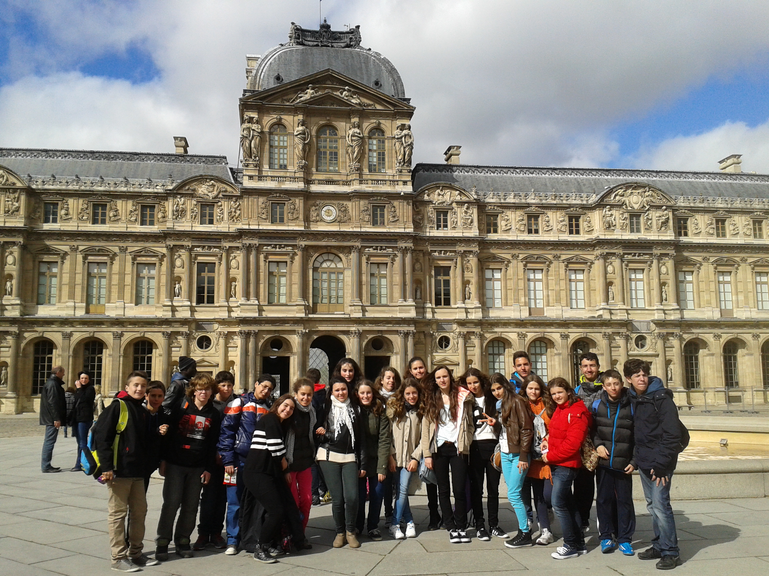 Intercambios en París 4