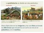 Diferencias Paleólitico-Neolítico