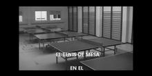 TENIS DE MESA EN EL COLEGIO ALHAMBRA
