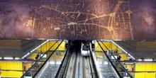 Estación de metro de aeropuerto, Madrid