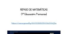 Matemáticas scape room 1º