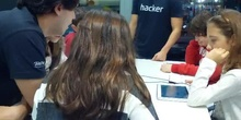 Aprendiendo en Talentum Schools con Light-bot