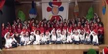 ACTUACION INFANTIL 4 AÑOS (LAS TRES CLASES) Navidad 2018
