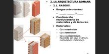 2. La arquitectura romana
