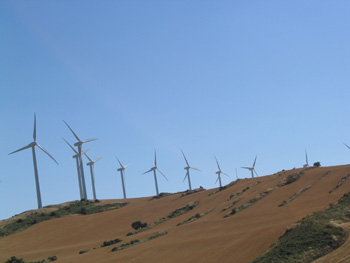 Central de energía eólica, Artajona, Navarra
