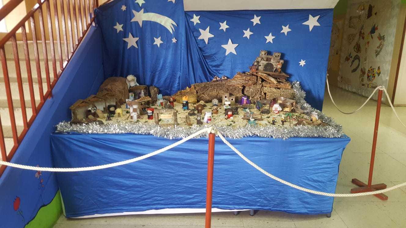 Decoración navideña centro 9