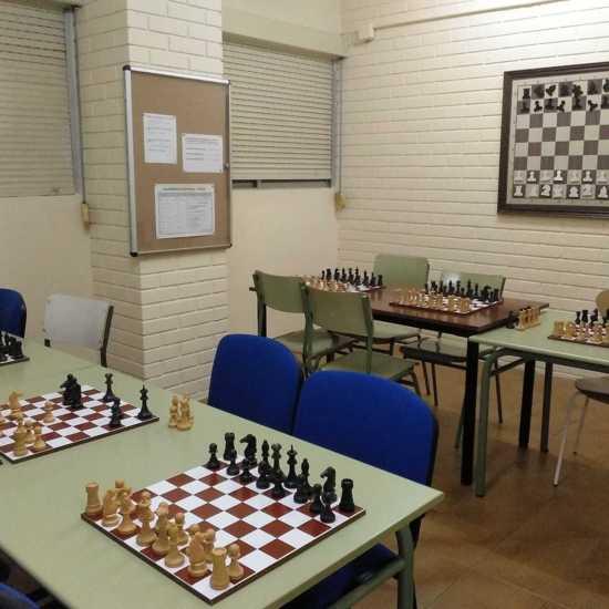 Aula de ajedrez