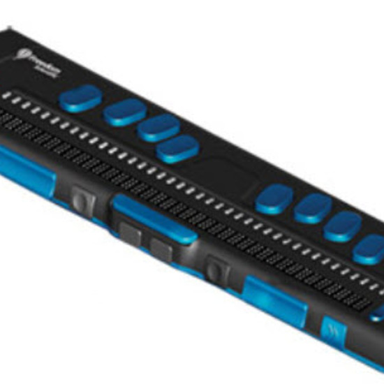 línea braille