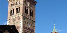 Torre y cimborrio, Catedral de Teruel