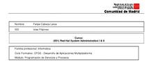 UNIDAD DIDÁCTICA: Administración de sistemas GNU/Linux