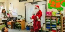 Los RRMM y Papá Noel en INF 5C 2