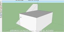 PAU 2012 A2 (Modelo 1). Construcción con SketchUp y exportación acon Aumentaty Author