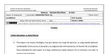 Ficha de Condición Física 4 para 2º ESO