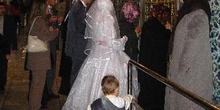 Ceremonia matrimonial en la tumba de Eyup, Estambul, Turquía