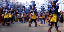 Comparsa en el desfile de carnaval - Badajoz