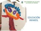Jornada Puertas Abiertas_Presentación Infantil_CEIP FDLR_Las Rozas