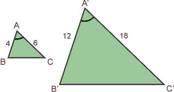 Tercer criterio de semejanza de triángulos