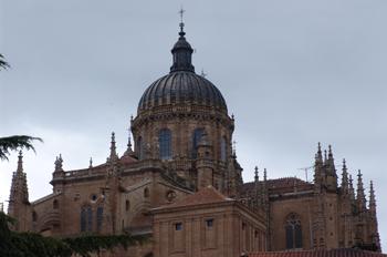 Cúpula Barroca, Catedral Nueva de Salamanca, Castilla y León