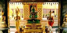 Buda de cristal verde, Chiang Mai, Tailandia