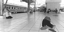 Estación de tren de Jakarta, Indonesia