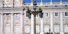 Farola del Palacio Real, Madrid