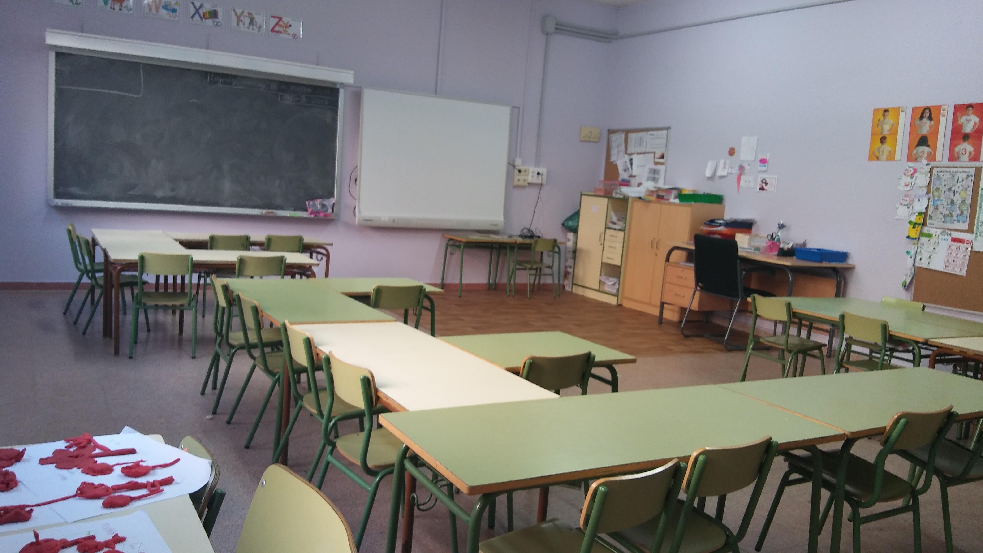 Aulas de Primaria 1