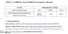 Presentación módulo a distancia Sociales - Cepa Joaquín Sorolla