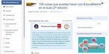 Actualizar el perfil del aula virtual en el curso de 100 cosas EducaMadrid
