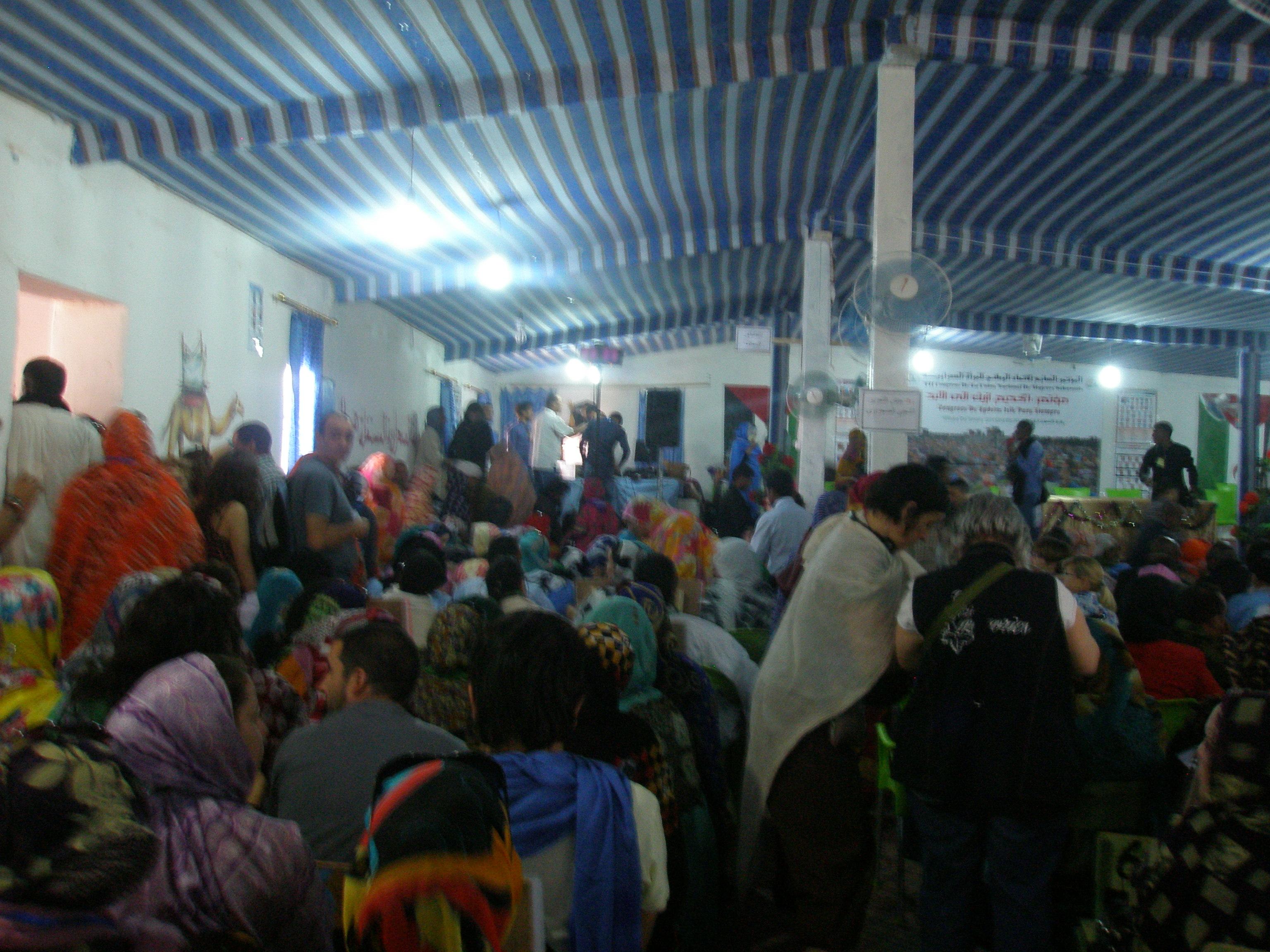 Congreso de mujeres saharauis