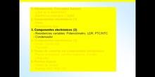 3º ESO / Tema 3 -> Punto 3 - Componentes electrónicos (2)